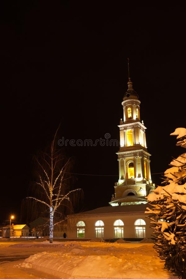 Kolomna, Russland Kirche von John Theologian Near With Ivanovo Gat lizenzfreie stockbilder