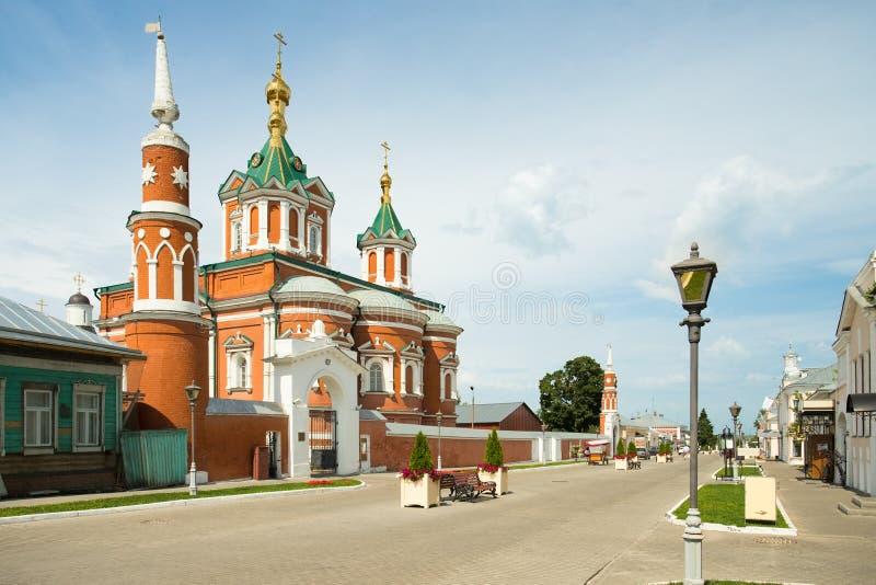 Kolomna, Russland Kloster Uspensky Brusensky auf Gebiet von Kolo stockbild