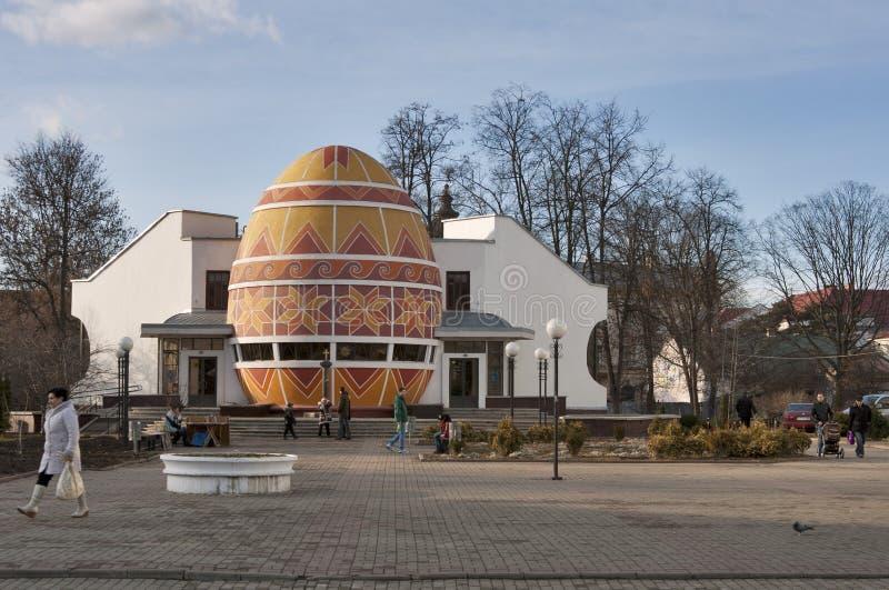kolomyia博物馆pysanka乌克兰 免版税库存照片