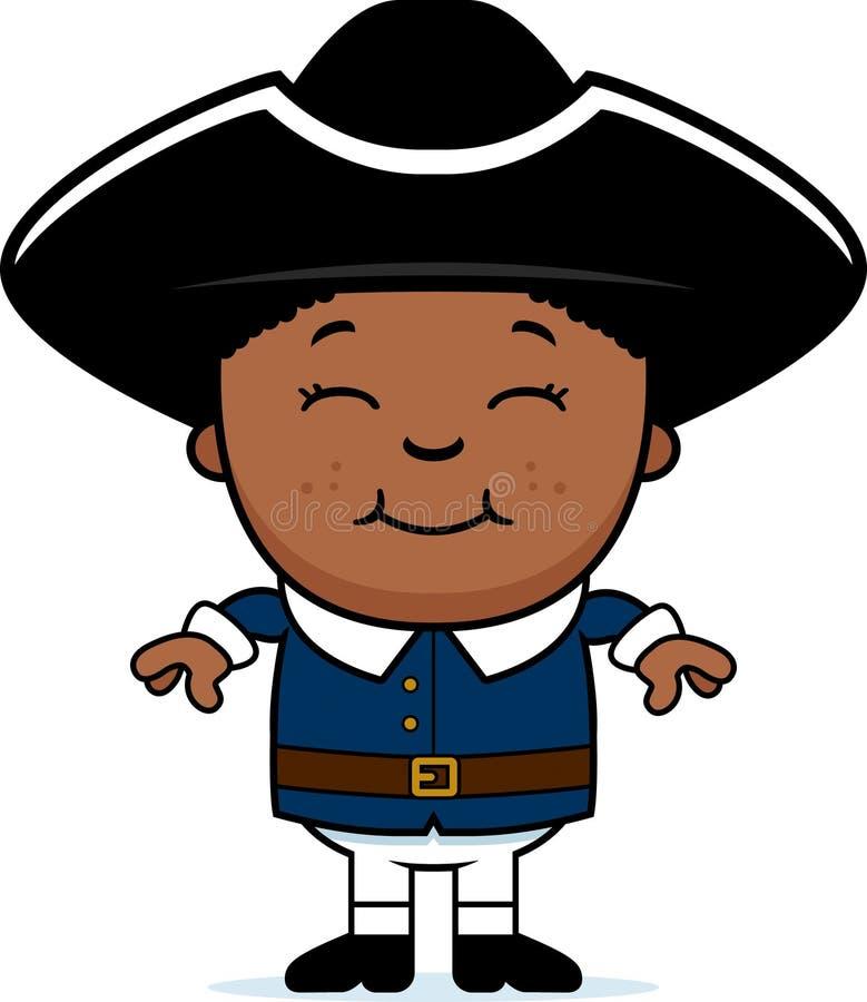 Koloniaal Kind vector illustratie