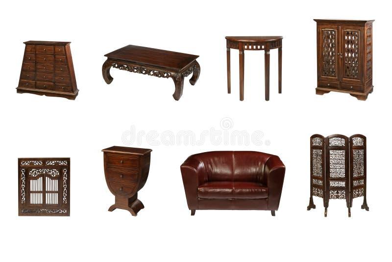 Koloniaal meubilair stock foto