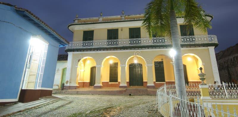 koloniala hus royaltyfri bild