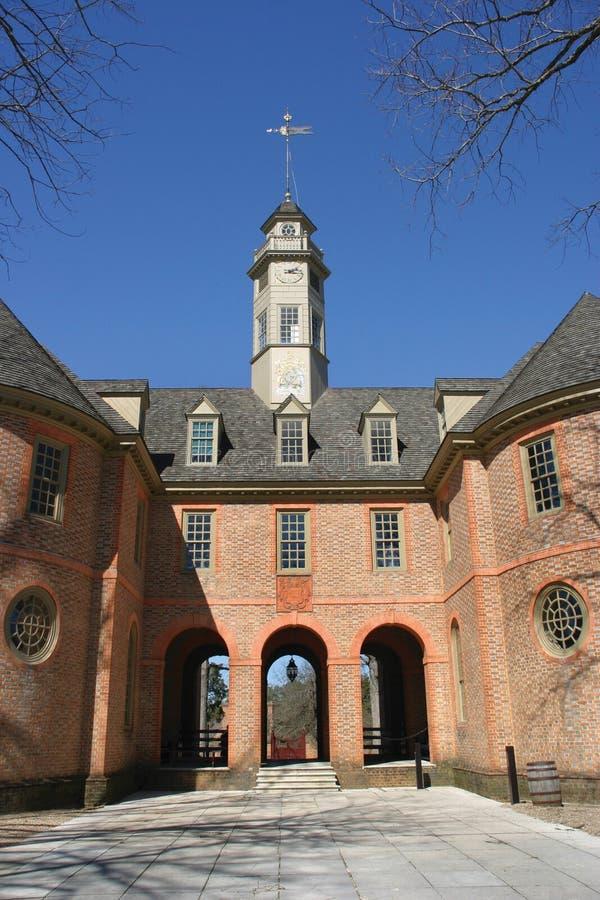 koloniala williamsburg royaltyfri fotografi