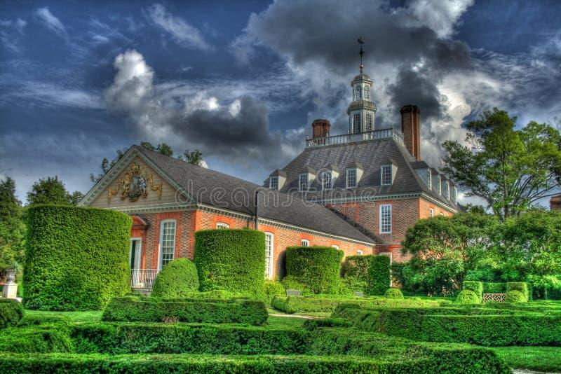 koloniala williamsburg royaltyfri foto