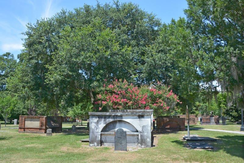 Koloniale Parkbegraafplaats royalty-vrije stock afbeeldingen