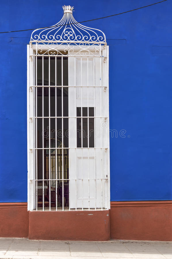 Kolonialhaus in Trinidad, Kuba lizenzfreie stockfotografie