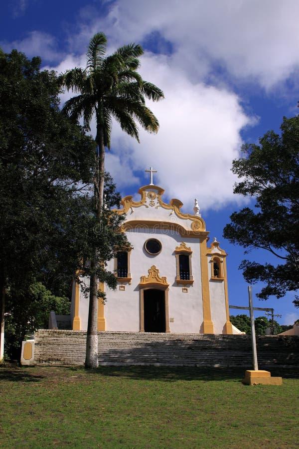 Kolonialkirche Fernandode Noronha - Vertikale stockbilder