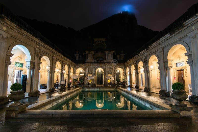 Kolonialna Włoska architektura w Rio De Janeiro fotografia royalty free