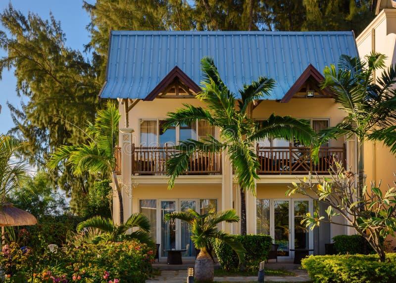 Kolonialny domowy Mauritius obraz stock