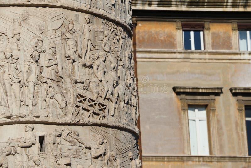 Download Kolonn för Trajan ` s arkivfoto. Bild av monument, huvud - 76704100