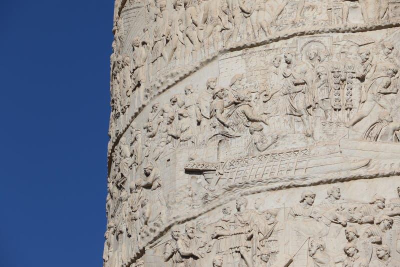 Download Kolonn för Trajan ` s fotografering för bildbyråer. Bild av rome - 76704213