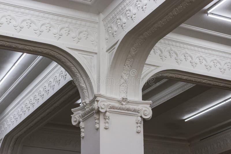 kolonndetalj - monumentala Callao arkivfoton