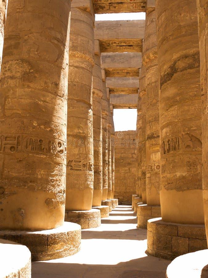 kolonnegyptier arkivfoto