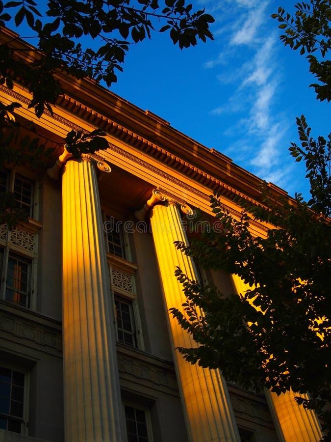 kolonner önskar grek royaltyfria foton