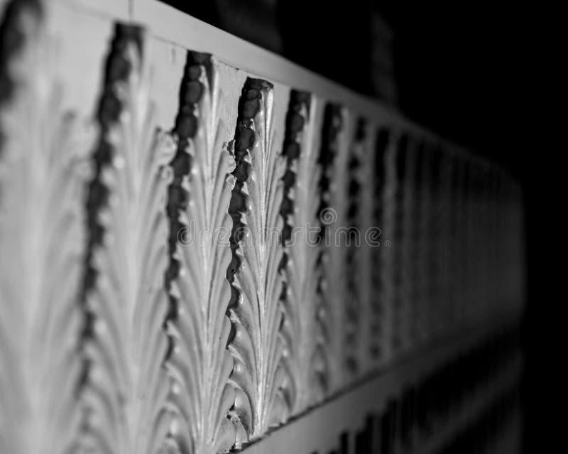 Kolonner för stil för frimurar- tempelfrimurare egyptiska royaltyfri foto