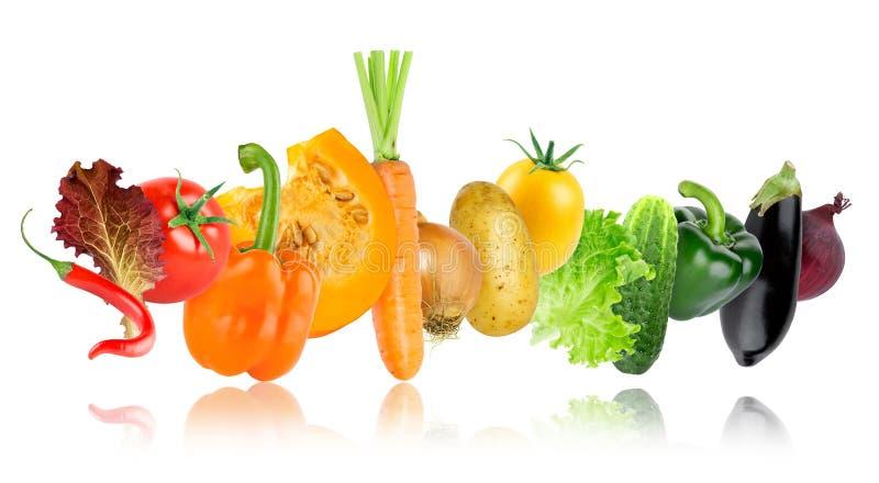 Kolorów świezi warzywa fotografia royalty free