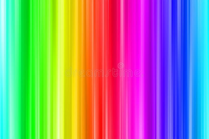 Kolorów barów tło ilustracja wektor