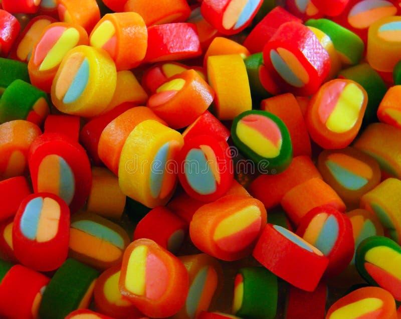 Kolorów cukierków szczegół zdjęcie royalty free