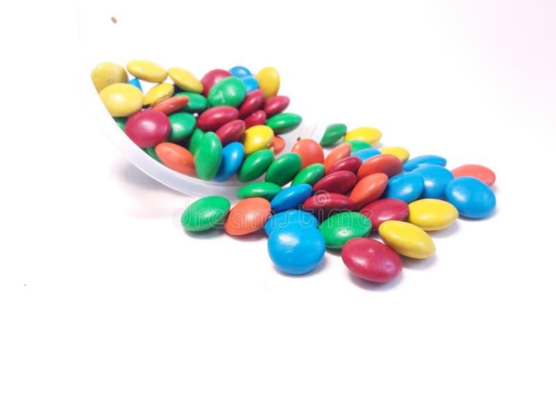 Kolorów cukierki zdjęcia stock