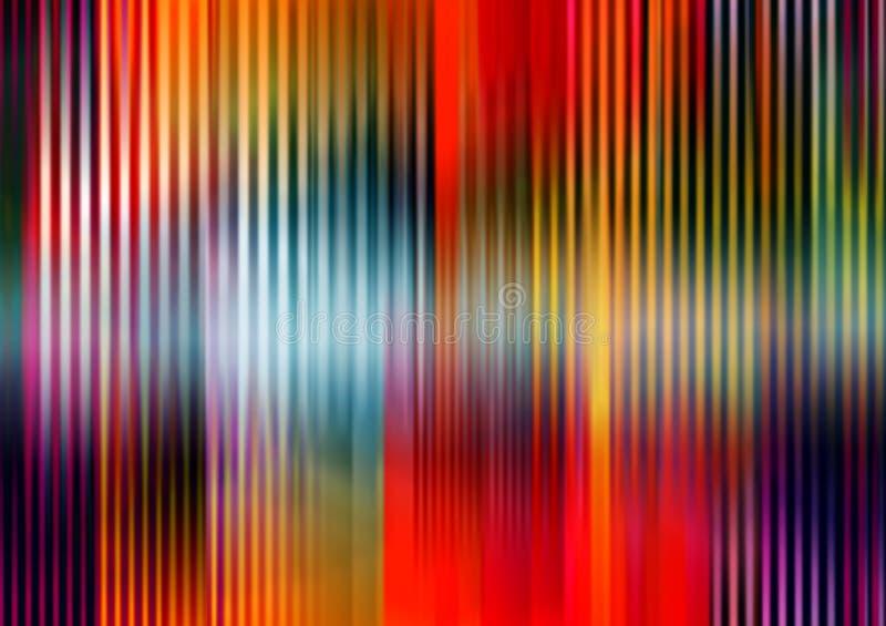 kolorów lampasy royalty ilustracja