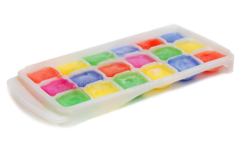 kolorów lodu kształt zdjęcie stock
