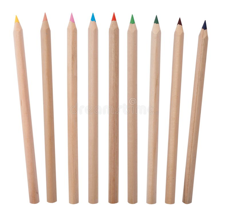 Kolorów ołówki obrazy royalty free