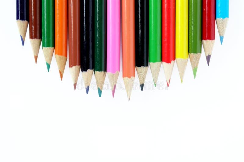 Kolorów ołówki ilustracji