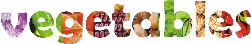 Kolorów owoc i warzywo świeże jedzenie Pojęcie kolaż zdjęcia stock
