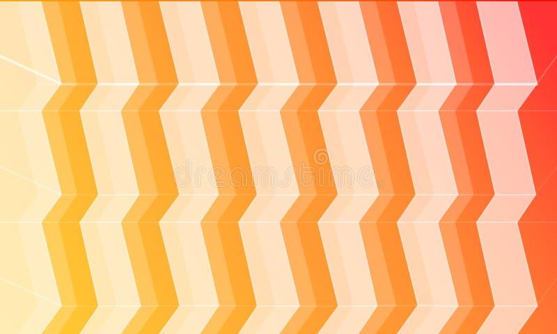 6 kolorów tło z schodkiem Zawiera 6 warstew dla 6 kolorów w kartotece zdjęcie stock