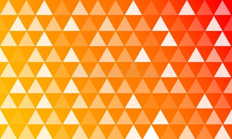 6 kolorów tło z trójboków stylami obrazy stock