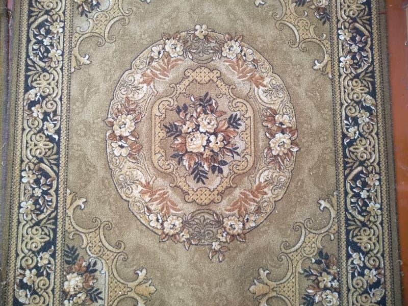 Kolorów wzory na dywanach zdjęcie stock