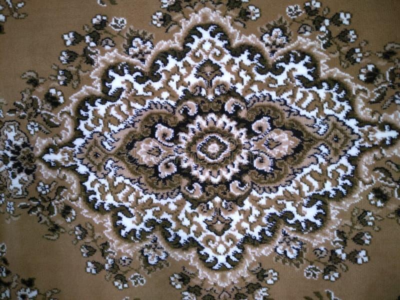 Kolorów wzory na dywanach obraz stock