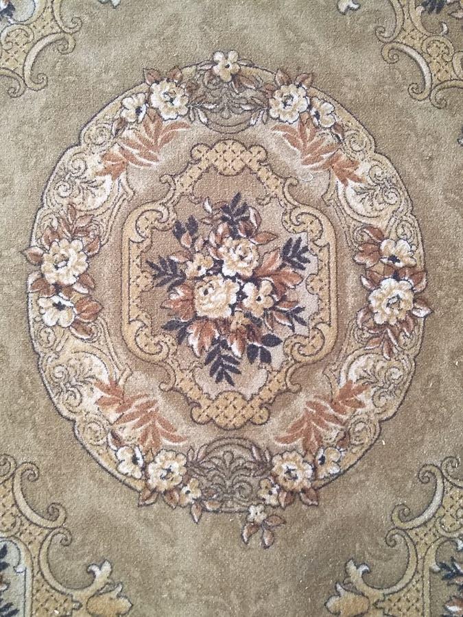 Kolorów wzory na dywanach fotografia royalty free
