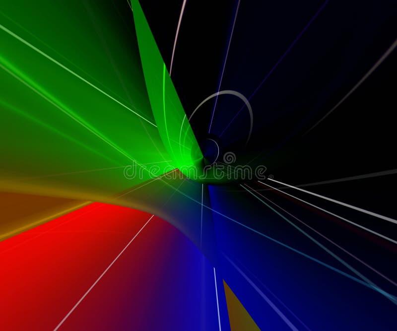 kolor światła abstrakcyjne royalty ilustracja