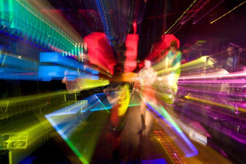 kolor światła do skutków fotografia stock