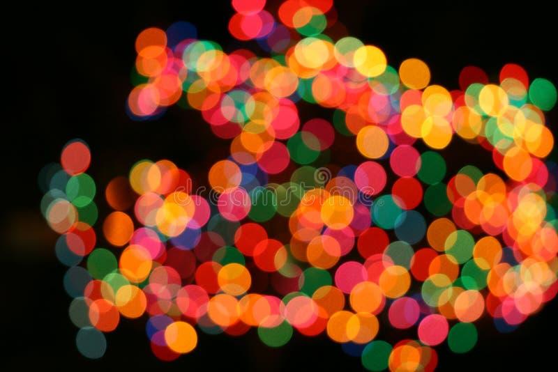 kolor światła mieszanka wakacjach dekoracji zdjęcie royalty free