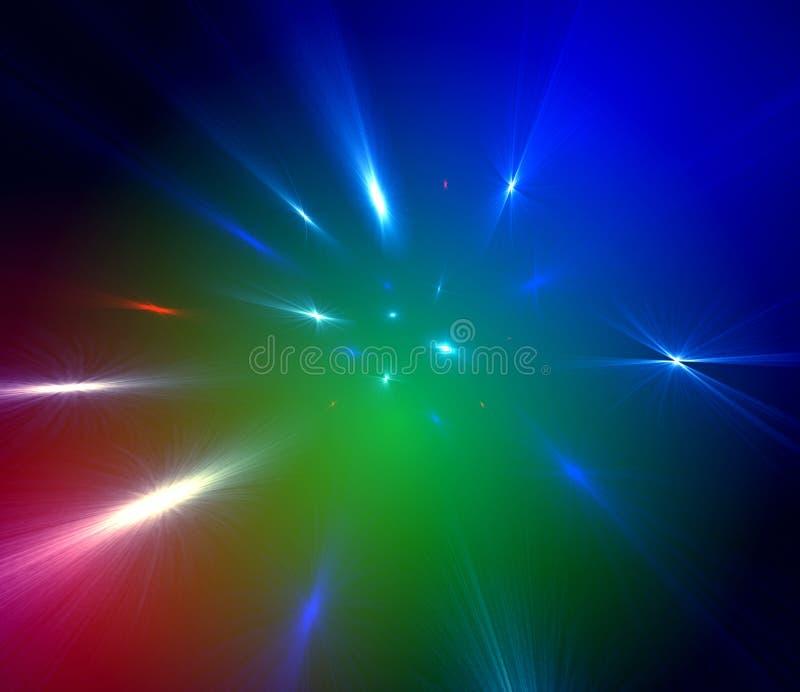 kolor światła przestrzeni ilustracji