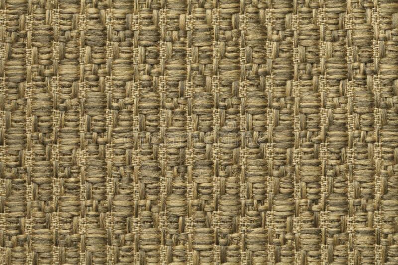 Kolor żółty dział woolen tło z wzorem miękka część, wełnisty płótno Tekstura złocisty tekstylny zbliżenie obrazy royalty free