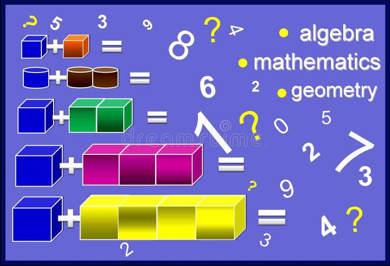 Kolor algebra obraz stock