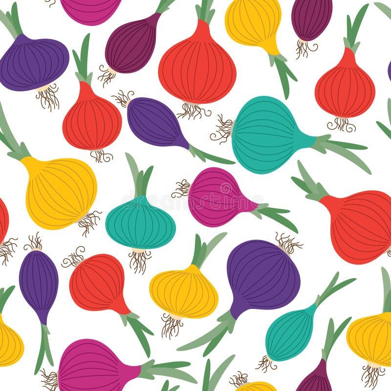 Kolor cebula royalty ilustracja