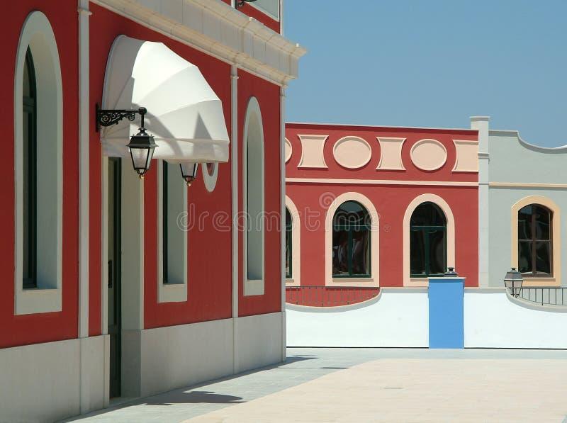 kolor domy. obrazy royalty free
