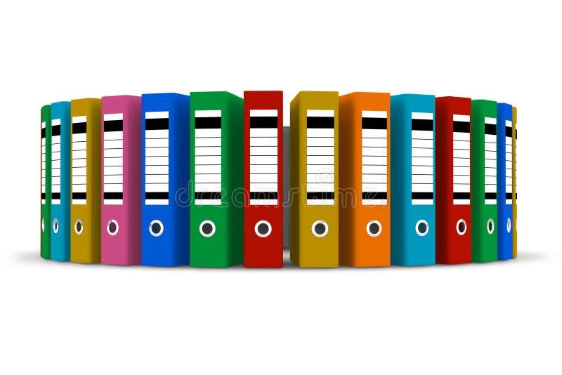 kolor falcówki ilustracja wektor