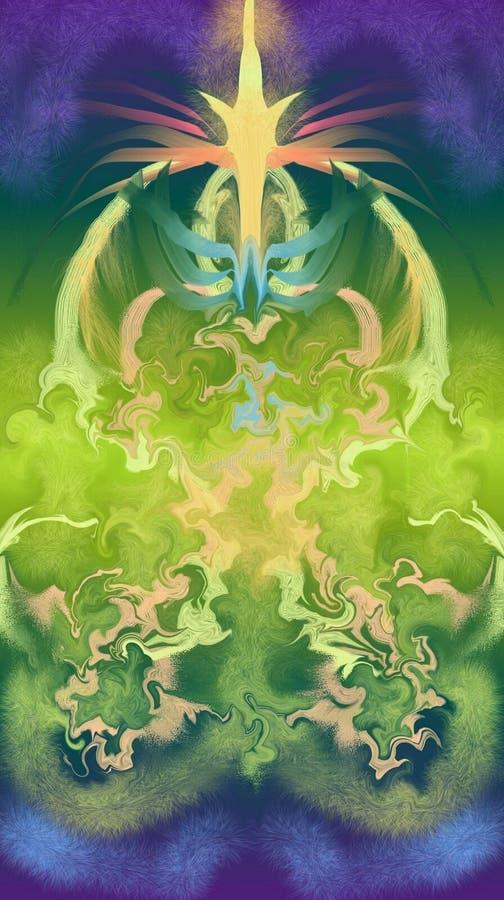 Kolor fantazja ilustracji