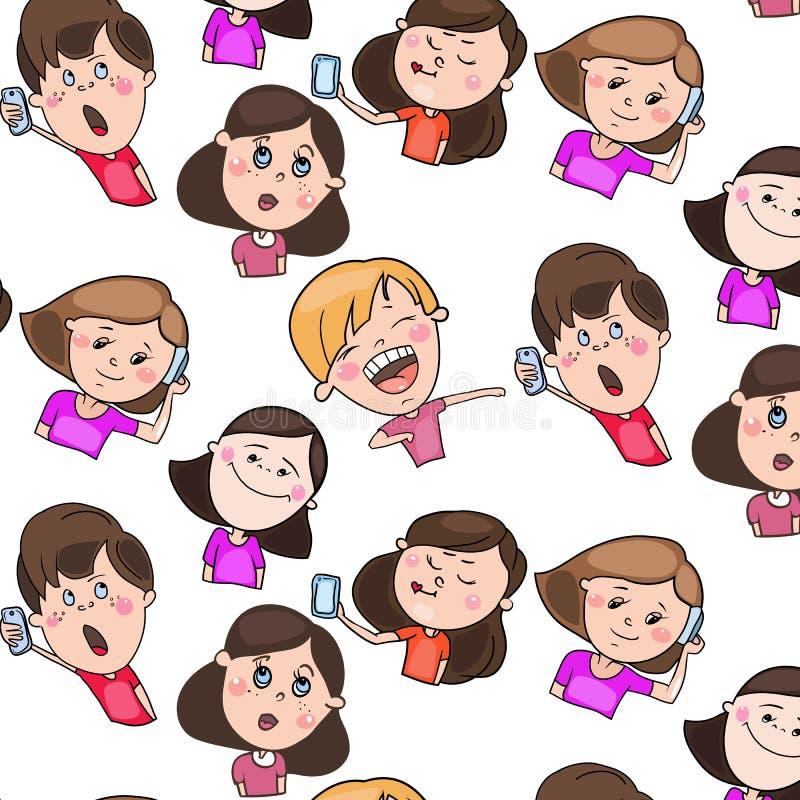 Kolor ilustracja, dziecko charaktery ilustracji