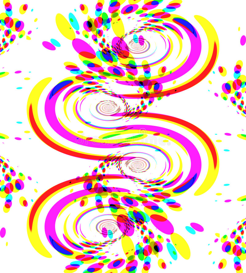 kolor konfetti fajerwerki ilustracja wektor
