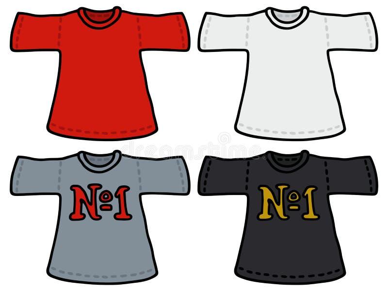 Download Kolor koszulki ilustracja wektor. Ilustracja złożonej z suknia - 53784214