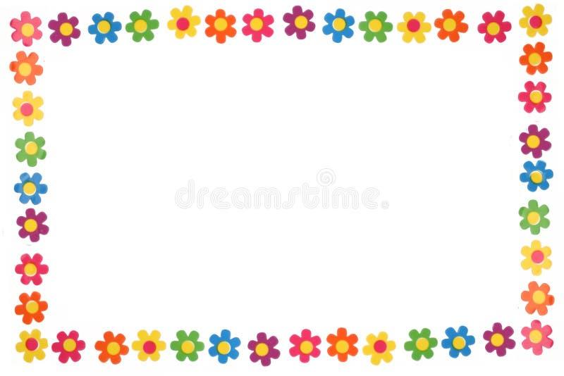 kolor kwiatów royalty ilustracja