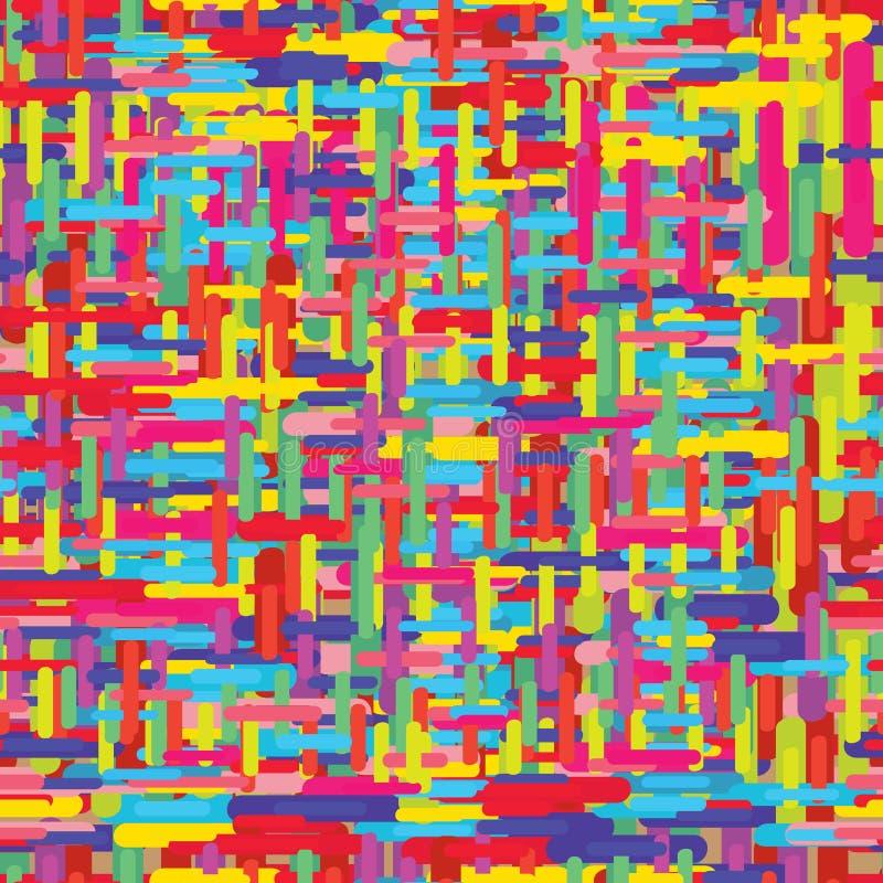 Kolor linii tła bezszwowy wzór ilustracji