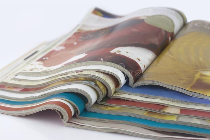 kolor magazyny obraz royalty free