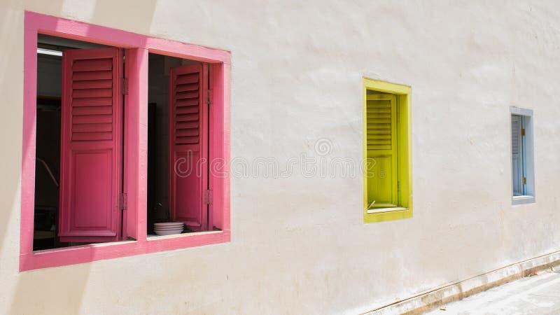 Kolor okno obraz royalty free